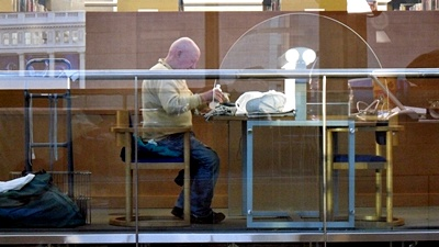 homeless in the Vancouver Public Library